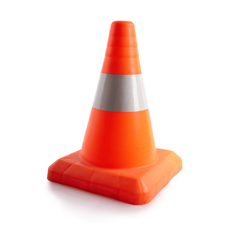 orange construction cone