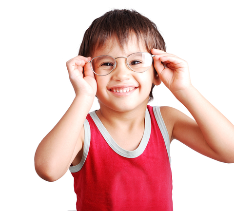 Boy with classes, © Zurijeta | Dreamstime.com